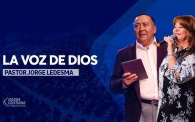 Pastor Jorge Ledesma – La voz de Dios