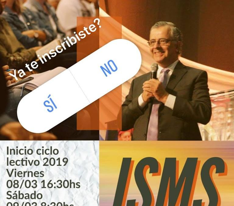Inscripción Abierta al ISMS (Instituto Superior del Ministerio Sobrenatural)
