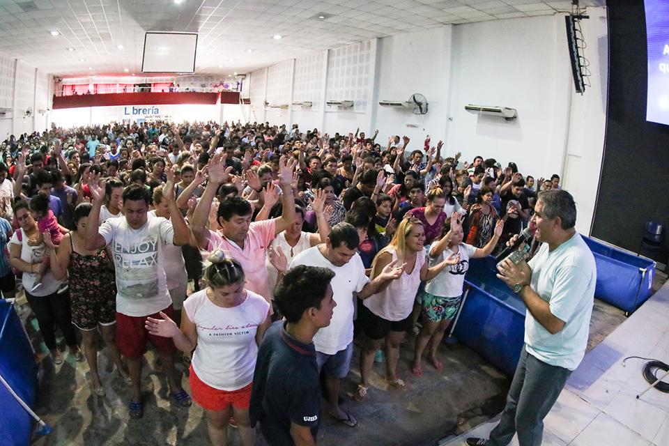 Cerca de 400 Personas en nuestra Fiesta de Bienvenida