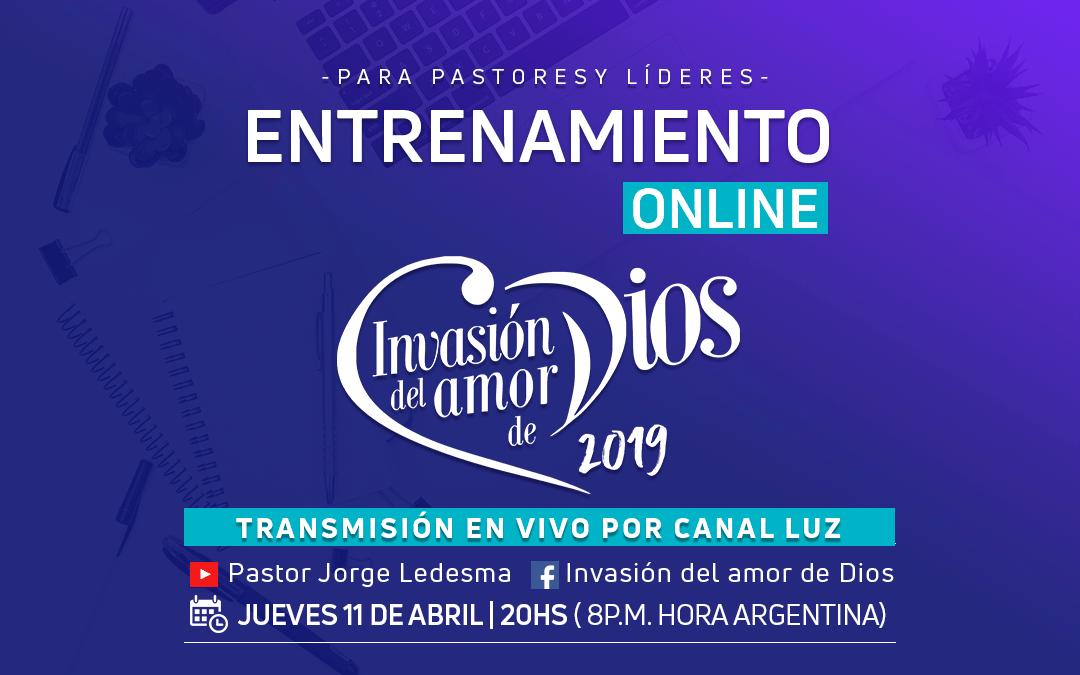 Invasión del Amor de Dios: Transmisión Especial por Canal Luz