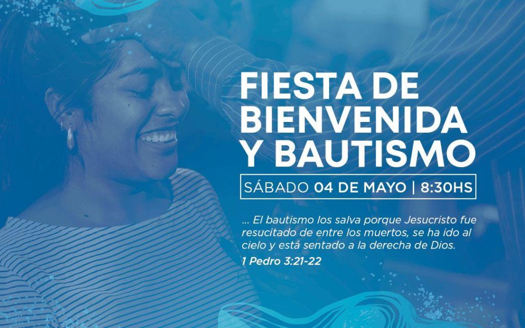 Fiesta de Bienvenida y Bautismo!