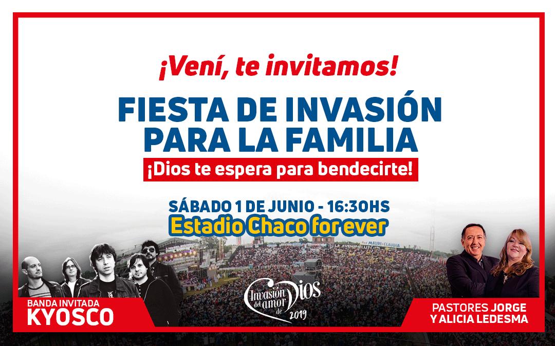 Fiesta de Invasión para la Familia en el For Ever
