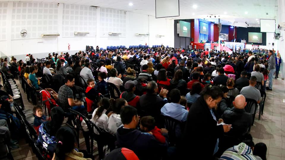 Cerca de 500 Personas en la Fiesta de Bienvenida