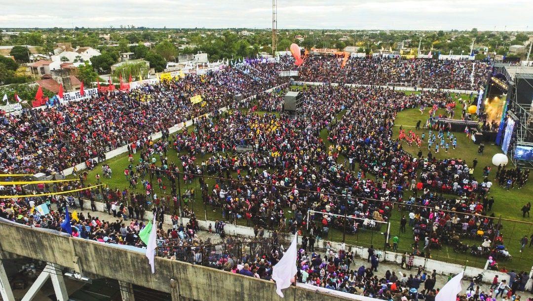 Impactante asistencia: Más de 35 mil personas en el Chaco For Ever en el Cierre del Festival de la Familia