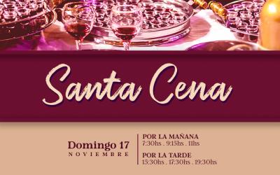 Santa Cena este Domingo en ICI