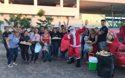 Evangélicos llevaron la navidad a la cárcel, el pediátrico y barrios carenciados