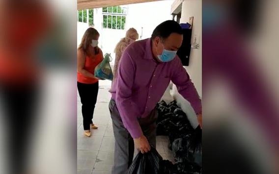 Iglesia Cristiana internacional está entregando alimento a cientos de familias chaqueñas