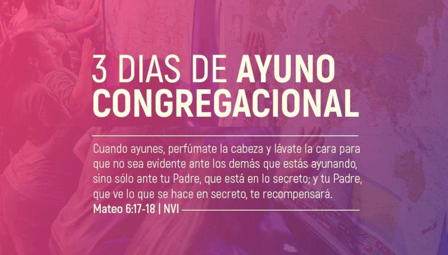 Tres días de Ayuno Congregacional Nacional: Unidos en el Espíritu en una Oración Poderosa