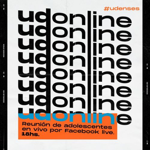 Hoy en UD via ON LINE desde las 18