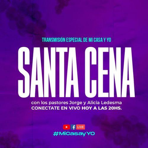 """Esta Noche: Santa Cena en """"Mi Casa y Yo"""""""