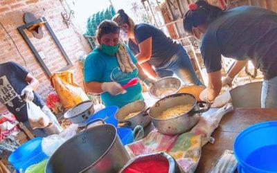 Más de 10.000 platos de comida repartió la iglesia durante la cuarentena