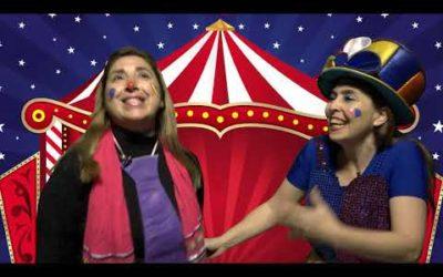 """Mensaje para niños """"El circo de la alegría"""""""