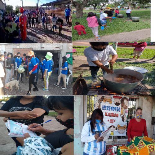 ICI Solidario continúa trabajando en asentamientos y barrios