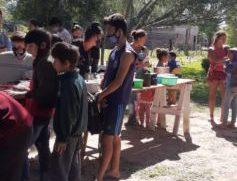 Sigue creciendo en comedor social del barrio Querido de Fontana